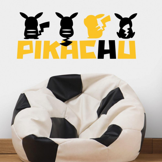 Pokemon - Pikachu #1 wallsticker