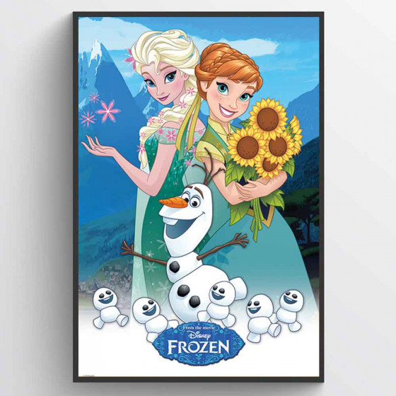 Frost - Frozen Fever Plakat wallsticker