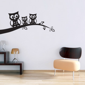 Ugler wallsticker
