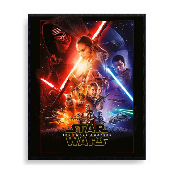Star Wars Episode VII Plakat wallsticker