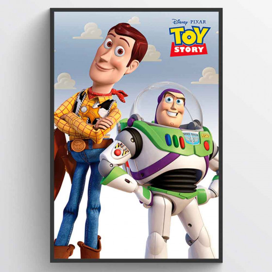 Toy Story Woody & Buzz Plakat wallsticker