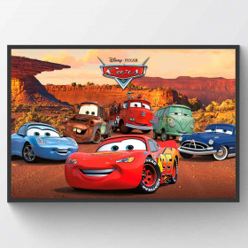 Cars Character Plakat wallsticker