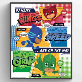 PJ Masks (On the Way) Plakat wallsticker