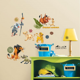 The Lion King - package wallsticker