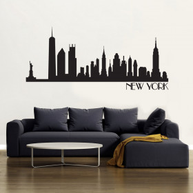 New York Skyline wallsticker wallsticker