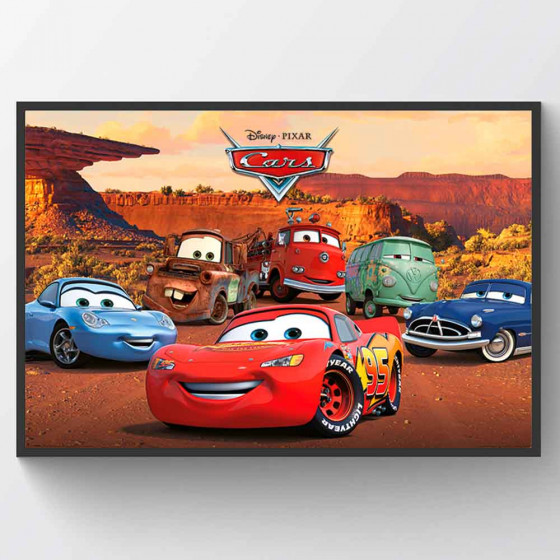 Cars - Best Friends Plakat wallsticker