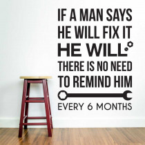 Man will fix it