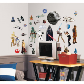 Star Wars - package (Classic) wallsticker