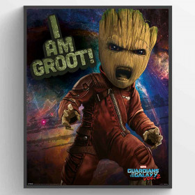 Guardians Of The Galaxy Vol. 2 (Angry Groot) Plakat wallsticker
