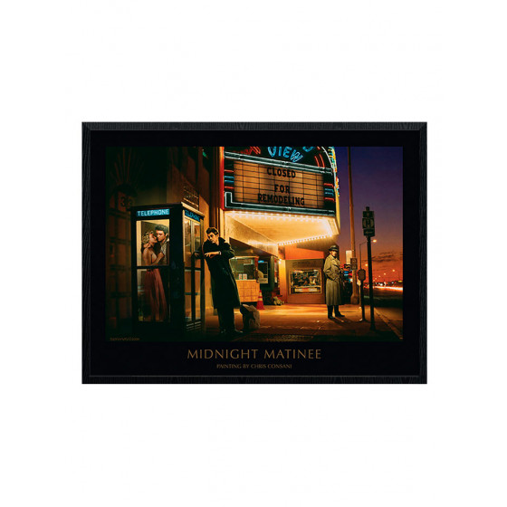 Chris Consani - Midnight Matinee Plakat wallsticker
