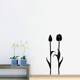 Tulipaner wallsticker