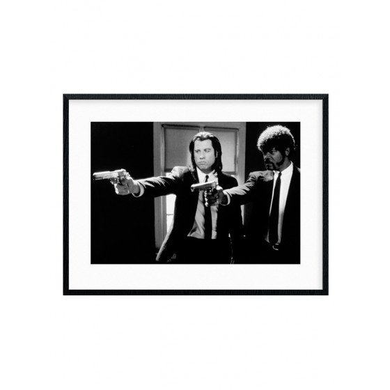 Pulp Fiction - Guns Plakat wallsticker