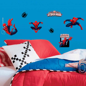 Spiderman Pakke wallsticker