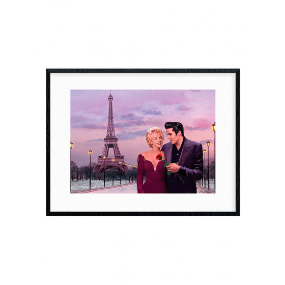Chris Consani - Paris Sunset Plakat wallsticker