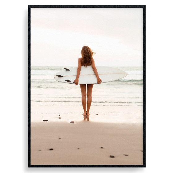 Waiting For The Waves Plakat wallsticker