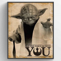 Star Wars Classic - May the Force be With You Plakat