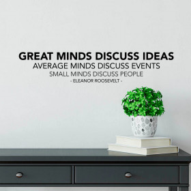 Great minds wallsticker