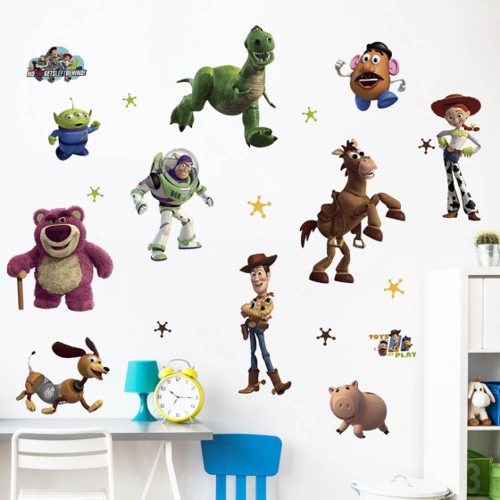Toy Story - pakke wallsticker