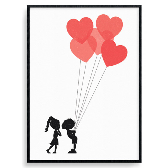 Innocent Love Plakat wallsticker
