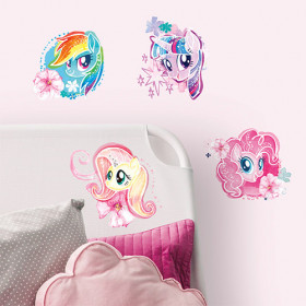 My Little Pony - watercolor pakke wallsticker