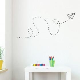 Papir fly wallsticker