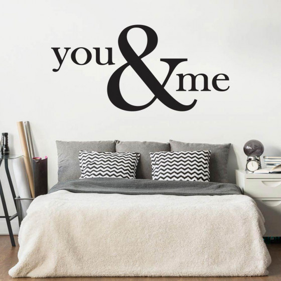 You & Me wallsticker