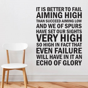 Echo of Glory - Tottenham F.C. wallsticker