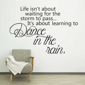 Dance in the rain wallsticker wallsticker