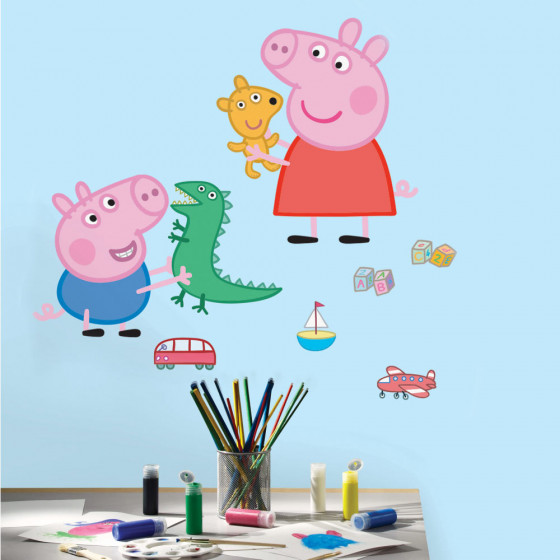 Peppa Gris #1 wallsticker