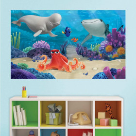 Oppdrag Dory - XL wallsticker