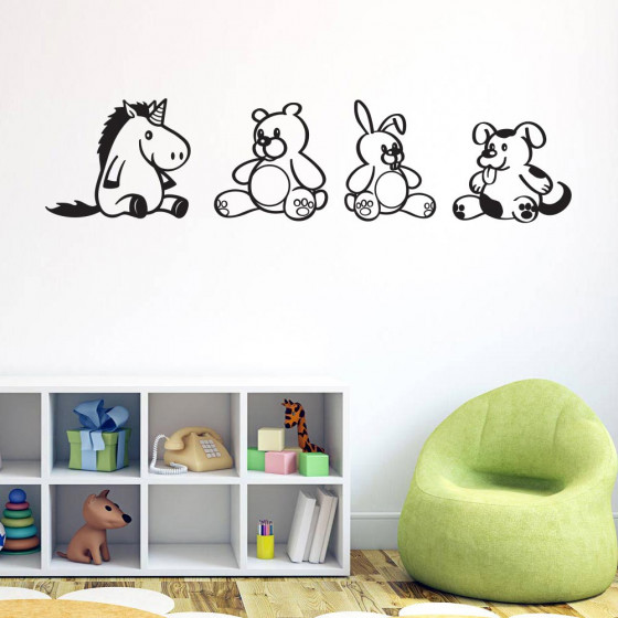Bamse-teamet wallsticker