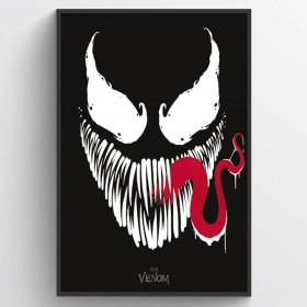 Venom (Face) Plakat wallsticker