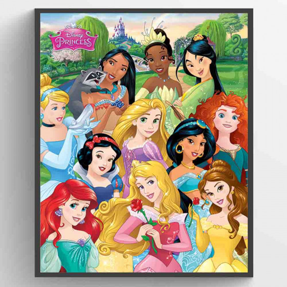 Disney Princesser - I am The Princess Plakat wallsticker