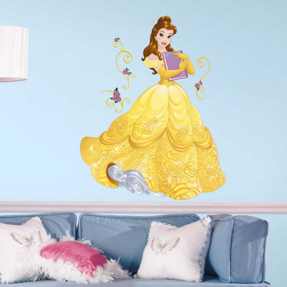 Disney Prinsesser - Belle wallsticker