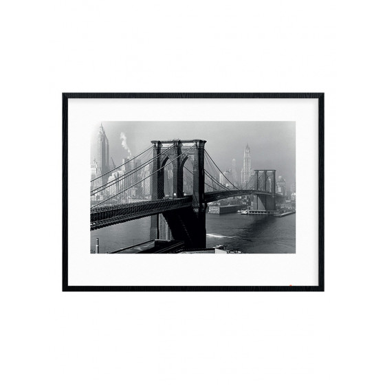 Brooklyn Bridge - New York 1946 Plakat wallsticker