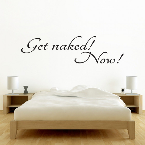 Get naked wallsticker