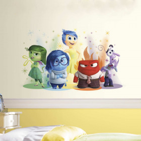 Inside out wallsticker