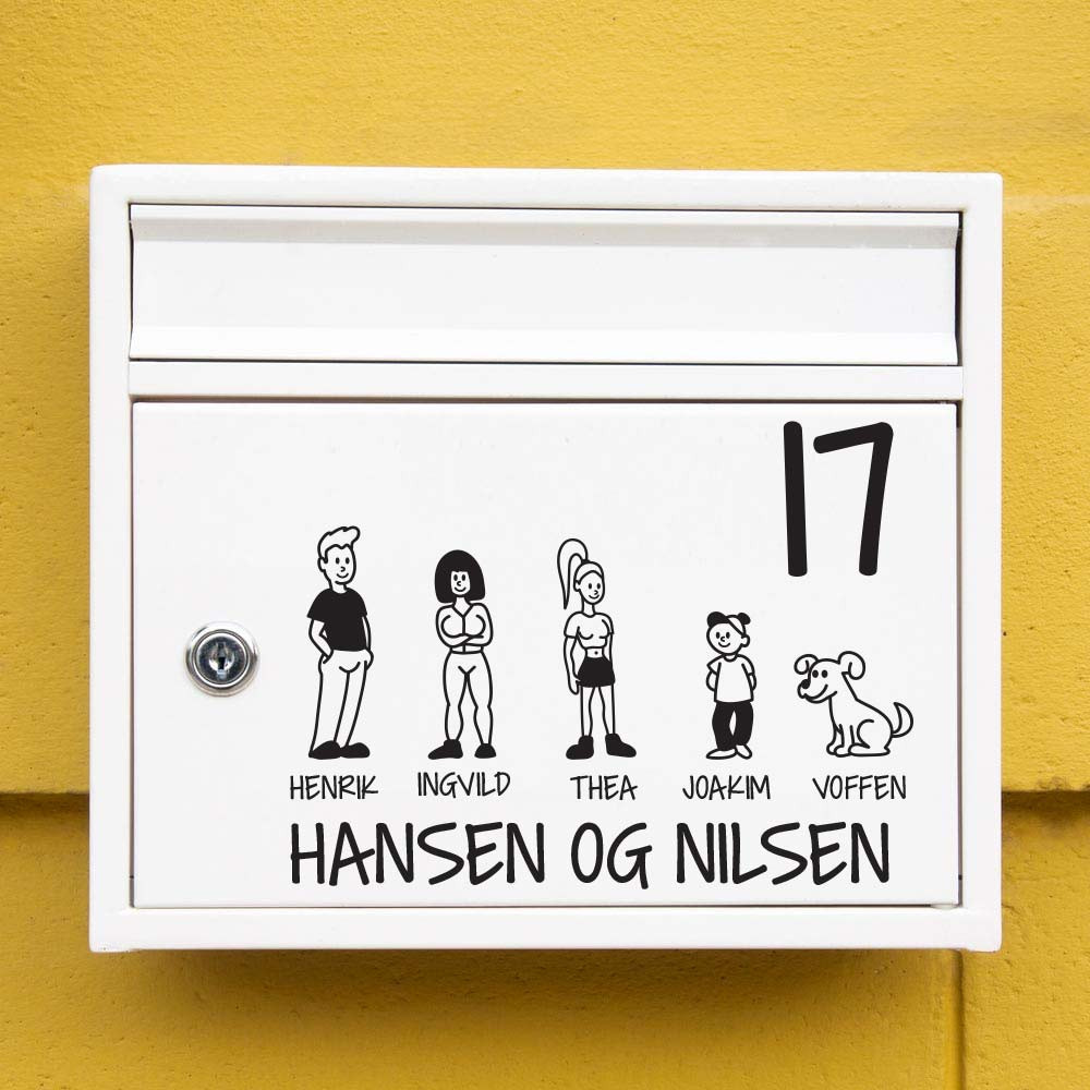 #2 Familie wallsticker