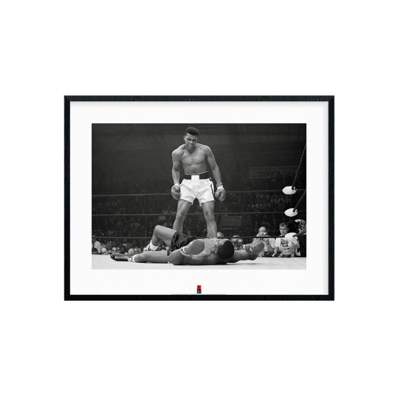 Muhammad Ali vs. Sonny Liston Plakat wallsticker