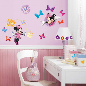 Minnie Mouse - pakke wallsticker