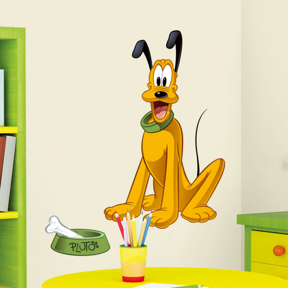 Pluto wallsticker
