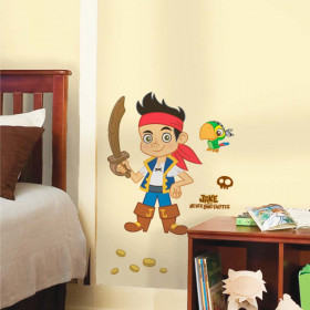 Captain Jake #2 wallsticker