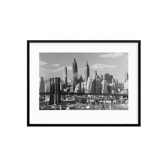 Lower Manhattan Skyline 1948 Plakat wallsticker