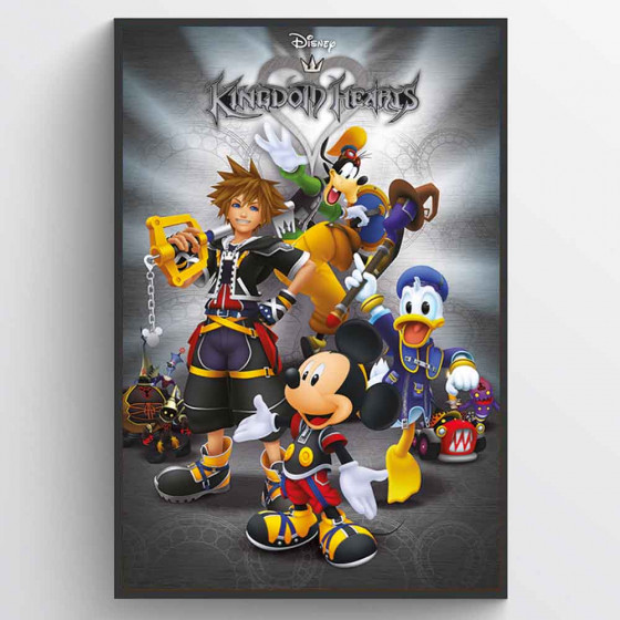 Kingdom Hearts Plakat wallsticker