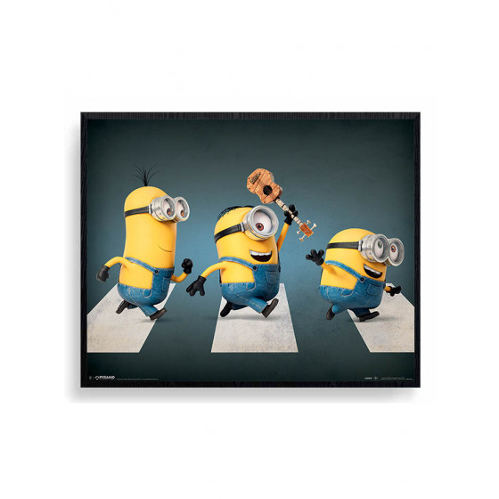 Minions - Abbey Road Plakat wallsticker