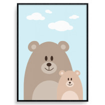 Bear Mom Plakat