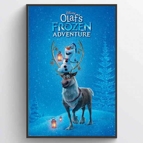 Frost - Olaf's Frozen Adventure Plakat wallsticker