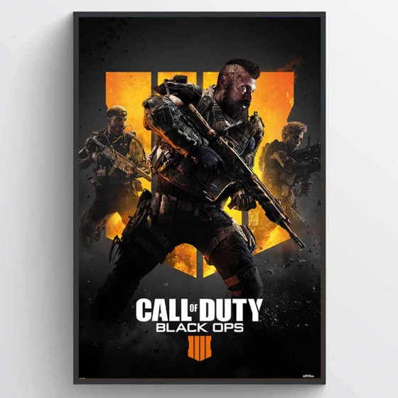Call of Duty - Black Ops 4 (Trio) Plakat wallsticker