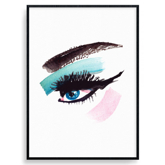 The Eye Plakat wallsticker