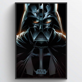 Star Wars Vader Comic Plakat wallsticker